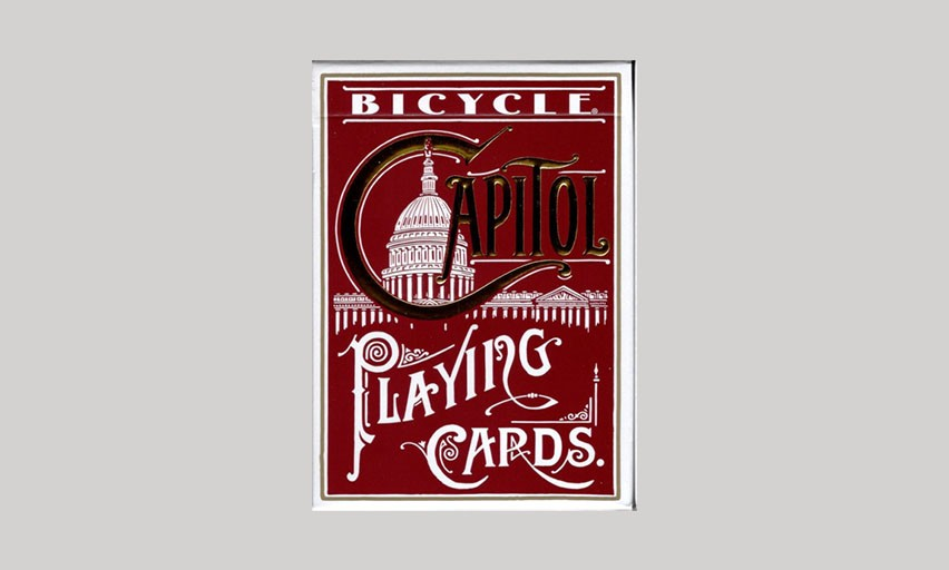 Bicycle Red Capitol